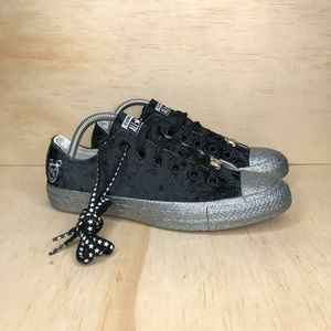 NEW Converse x Miley Cyrus CTAS Low Top Glitter